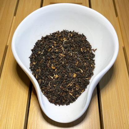 Lekker Teetiet in Präsentationsschale