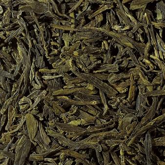 Lung Ching Grüner Tee aus China Zheijang
