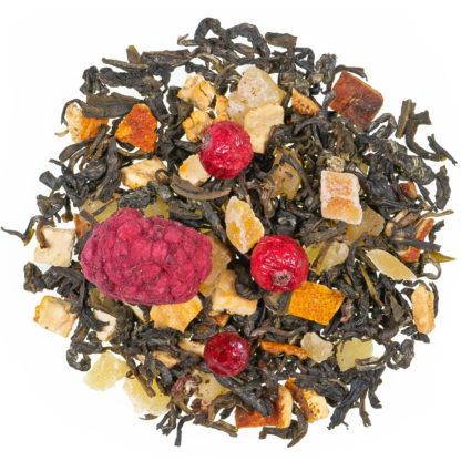 Baba´s Hexenschmaus Grüner Tee mit Frucht und Kräutern