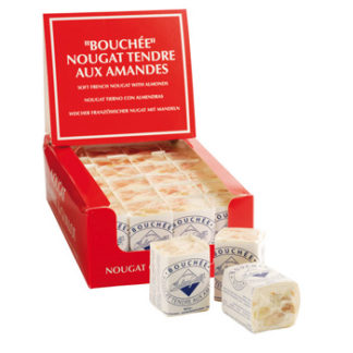 Soft Nougat Bouchees Chabert & Guillot Display Französicher Weichnougat