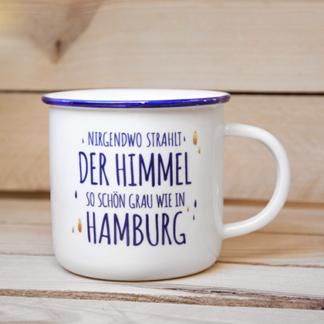 Porzellanbecher Himmel Hamburg Souvenir