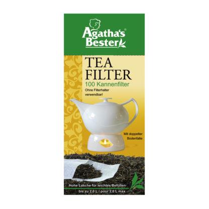 Kannen-Papierfilter Filter für losen Tee