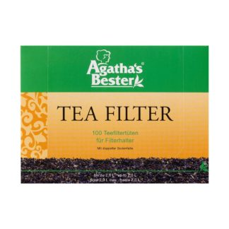 Papierfilter für losen Tee für die Tasse