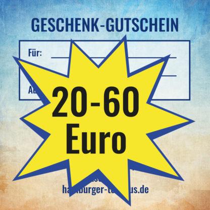 Gutschein zum Verschenken von 20-60 Euro