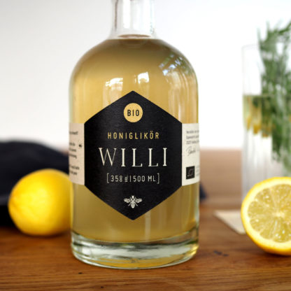 Honiglikör Bio namens Willi von Herr Biene
