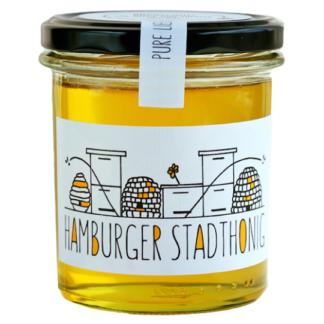 Honig im kleinen Glas aus Eppendorf Hamburg