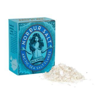 Salzflocken von Nordur Salt mit Geothermie die Umwelt schonen