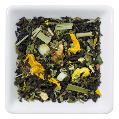 Black Mojito Schwarzer Tee mit Minze und Zitrone