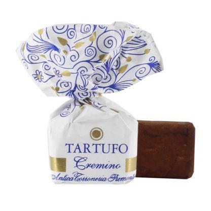 Tartufo Crémino besonders crémiges Trüffelkonfekt mit Piemonteser Haselnuss