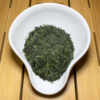 Shincha Yabukita akA in Präsentationsschale