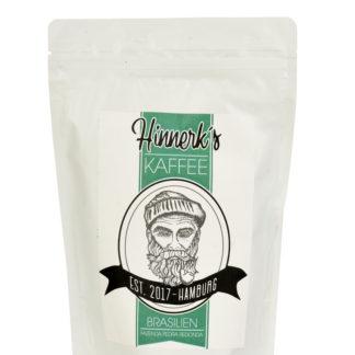 Kaffee aus Brasilien gemahlen und ganze Bohne
