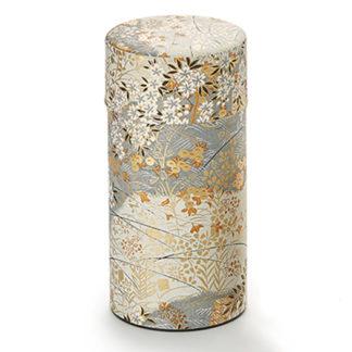 Teedose Kyoko für 150g Tee mit Seidenpapier und Innendeckel als Aromaverschluss